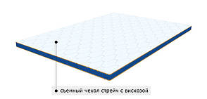 Футон Sleep&Fly Memo 2 в 1 Kokos 150x190 см (3003701501903), фото 2