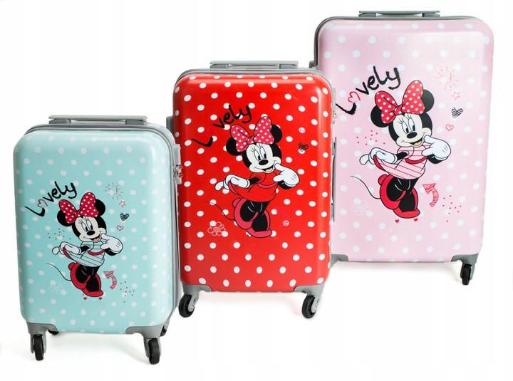 """Детский чемодан на колесиках """"Микки Маус"""" Размер XS"""