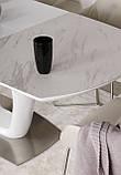 Раскладной стол OTTAWA (Оттава) 140/180х85 керамика белый Nicolas (бесплатная адресная доставка), фото 4