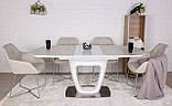 Раскладной стол OTTAWA (Оттава) 140/180х85 керамика белый Nicolas (бесплатная адресная доставка), фото 3
