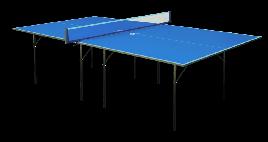 Стіл для настільного тенісу GSI-sport Hobby Light 274x152,5x76 см Blue