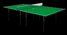 Стіл для настільного тенісу GSI-sport Hobby Light 274x152,5x76 см Green