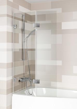 Шторка для ванни Riho SCANDIC S500 Yukon, Doppio 820 + 355 мм (GC60200)