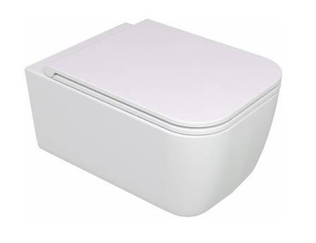 Підвісний унітаз GSG BRIO 52,5 см Smart Clean white matt (BRWCSO001), фото 2
