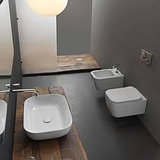 Підвісний унітаз GSG BRIO 52,5 см Smart Clean white matt (BRWCSO001), фото 3