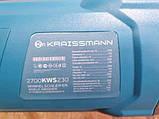 Угловая шлифмашина KRAISSMANN 2700-KWS-230, фото 3