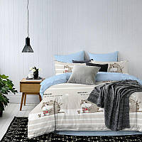 Комплект постельного белья Кошка и мышка (двуспальный-евро) Berni