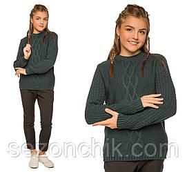 Тёплый зимний свитер для девочек