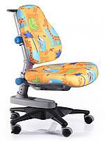 Детское кресло ton, Mealux (обивка желтая со зверятами)