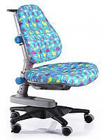 Детское кресло ton, Mealux (обивка голубая со зверятами)