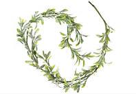 Гирлянда из листьев омелы в инее 758-302