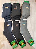 Махровые носки мужские с логотипом верблюд