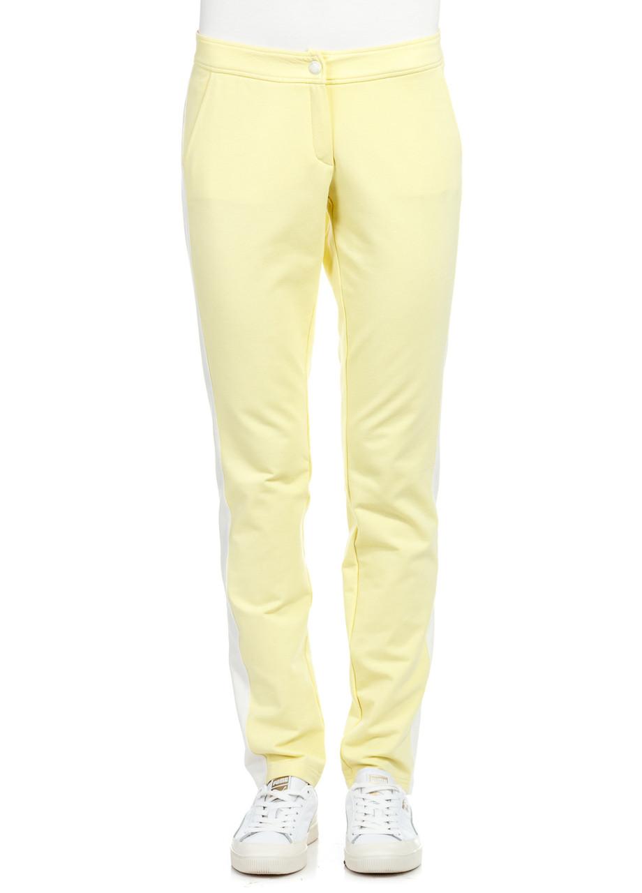 Брюки женские Karrie желто-молочного цвета
