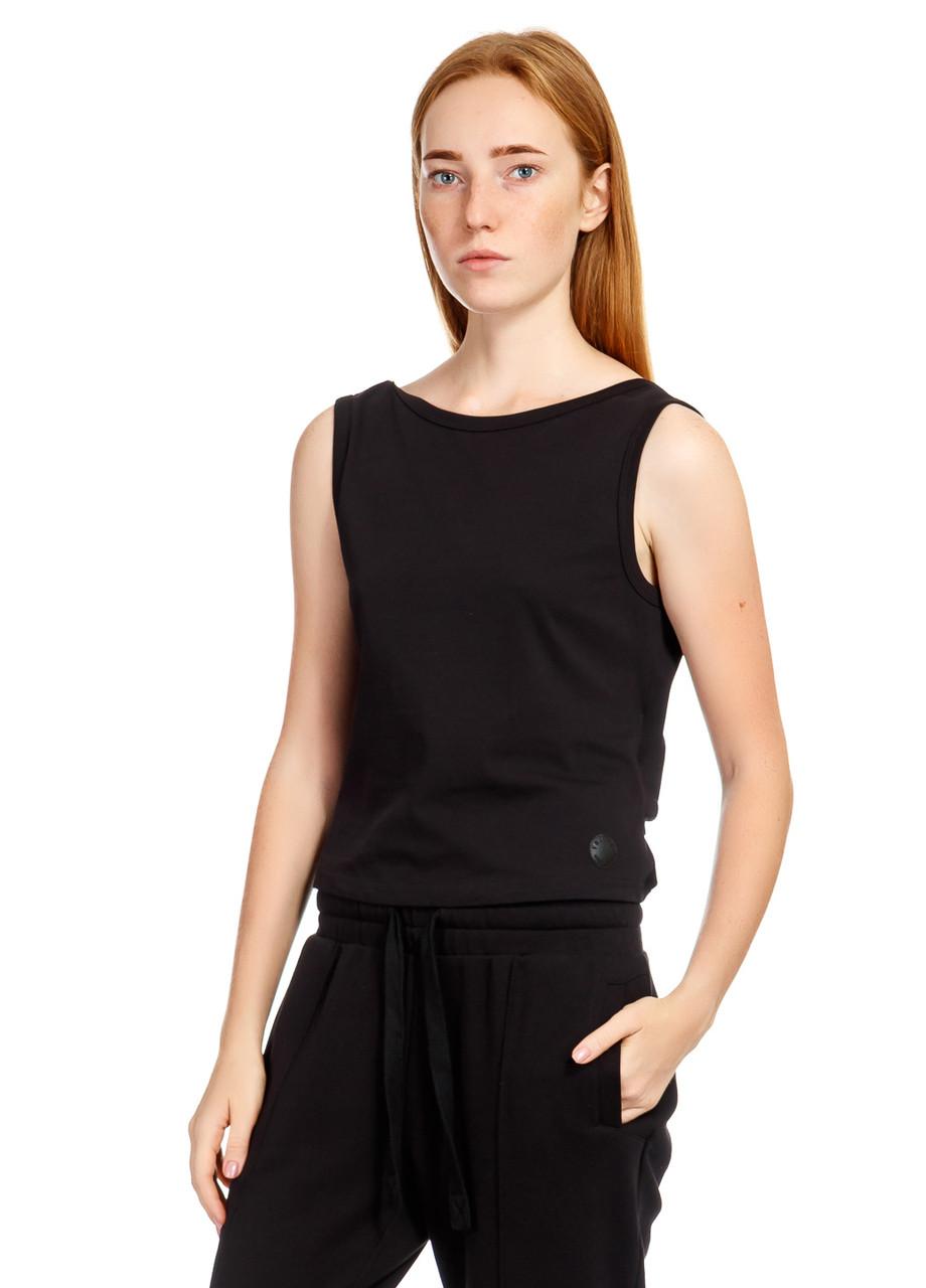 Майка женская Kink Shirt черного цвета