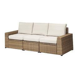 СОЛЛЕРОН, 3-местный модульный диван, садовый - ТОП ПРОДАЖ