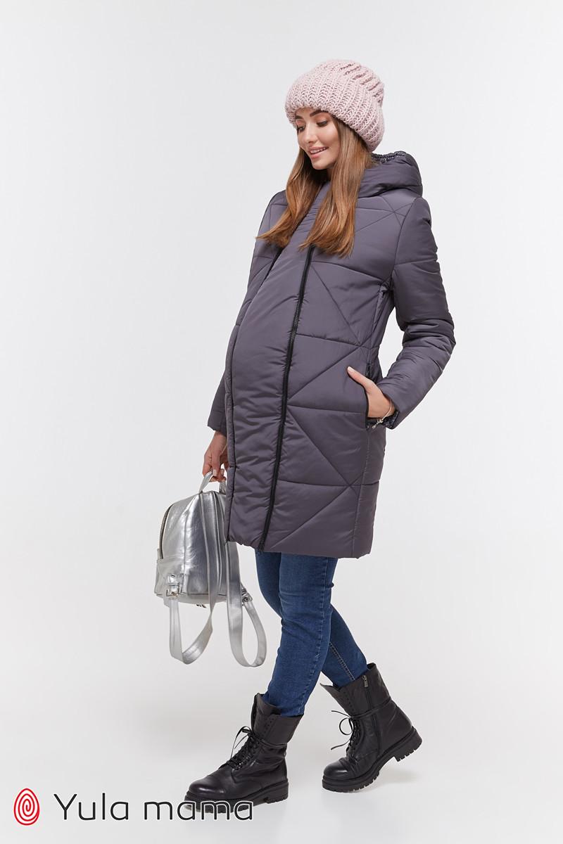 Зимнее теплое пальто для беременных Angie OW-49.034 (Размер S, М, L, XL)
