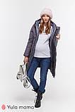 Зимнее теплое пальто для беременных Angie OW-49.034 (Размер S, М, L, XL), фото 3