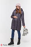 Зимнее теплое пальто для беременных Angie OW-49.034 (Размер S, М, L, XL), фото 4