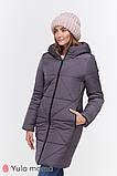 Зимнее теплое пальто для беременных Angie OW-49.034 (Размер S, М, L, XL), фото 7