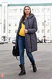 Зимнее теплое пальто для беременных Angie OW-49.034 (Размер S, М, L, XL), фото 8