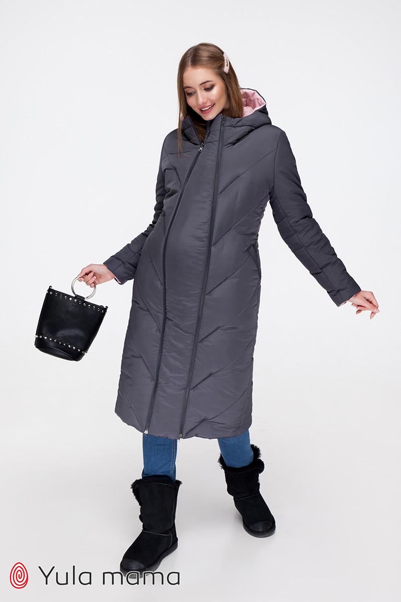 Зимнее двухстороннее пальто для беременных Tokyo OW-49.022 (Размер S, М, L)