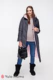 Зимнее двухстороннее пальто для беременных Tokyo OW-49.022 (Размер S, М, L), фото 2
