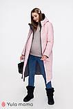 Зимнее двухстороннее пальто для беременных Tokyo OW-49.022 (Размер S, М, L), фото 4