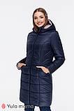 Зимнее теплое пальто для беременных  Mariet OW-49.042 (Размер М, L), фото 6