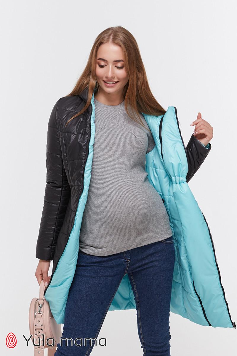 Зимнее двухстороннее пальто для беременных   Kristin OW-49.011 ( Размеры; S)