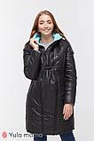 Зимнее двухстороннее пальто для беременных   Kristin OW-49.011 ( Размеры; S), фото 2