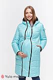 Зимнее двухстороннее пальто для беременных   Kristin OW-49.011 ( Размеры; S), фото 4