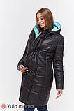 Зимнее двухстороннее пальто для беременных   Kristin OW-49.011 ( Размеры; S), фото 5