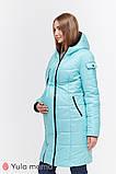 Зимнее двухстороннее пальто для беременных   Kristin OW-49.011 ( Размеры; S), фото 7