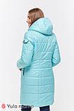 Зимнее двухстороннее пальто для беременных   Kristin OW-49.011 ( Размеры; S), фото 9