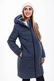 Зимнее теплое пальто для беременных Angie OW-49.033 (Размер S), фото 3