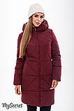 Зимнее теплое пальто для беременных  Angie OW-49.032 (L, xL), фото 5