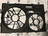 Корпус Диффузора вентилятора основного радиатора Volkswagen Transporter T5 0130303917 7H0121201BN, фото 2