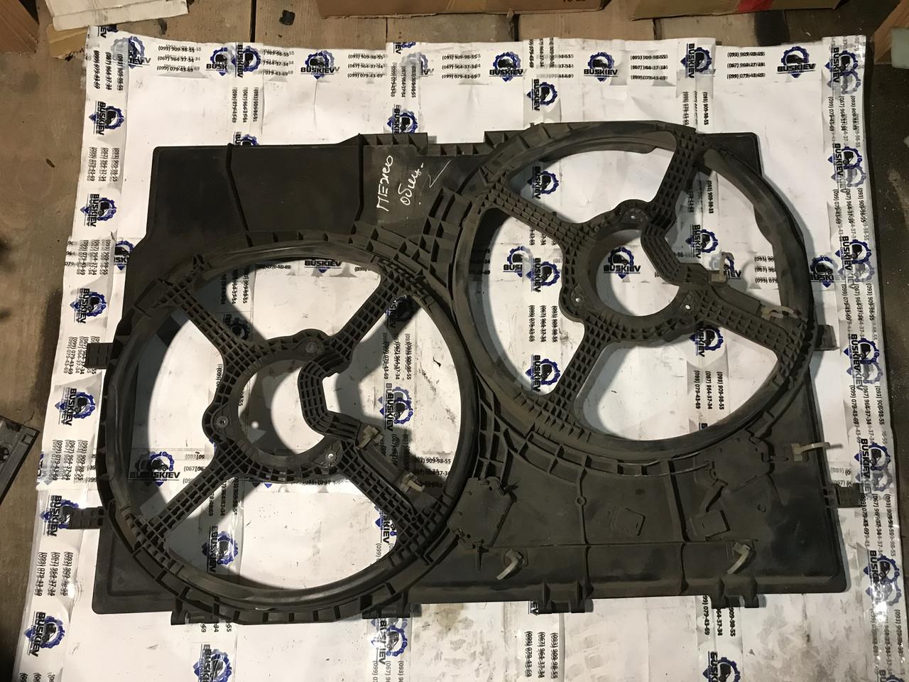 Корпус Диффузора вентилятора основного радиатора Fiat Ducato с 2006-2014 год 1345870080
