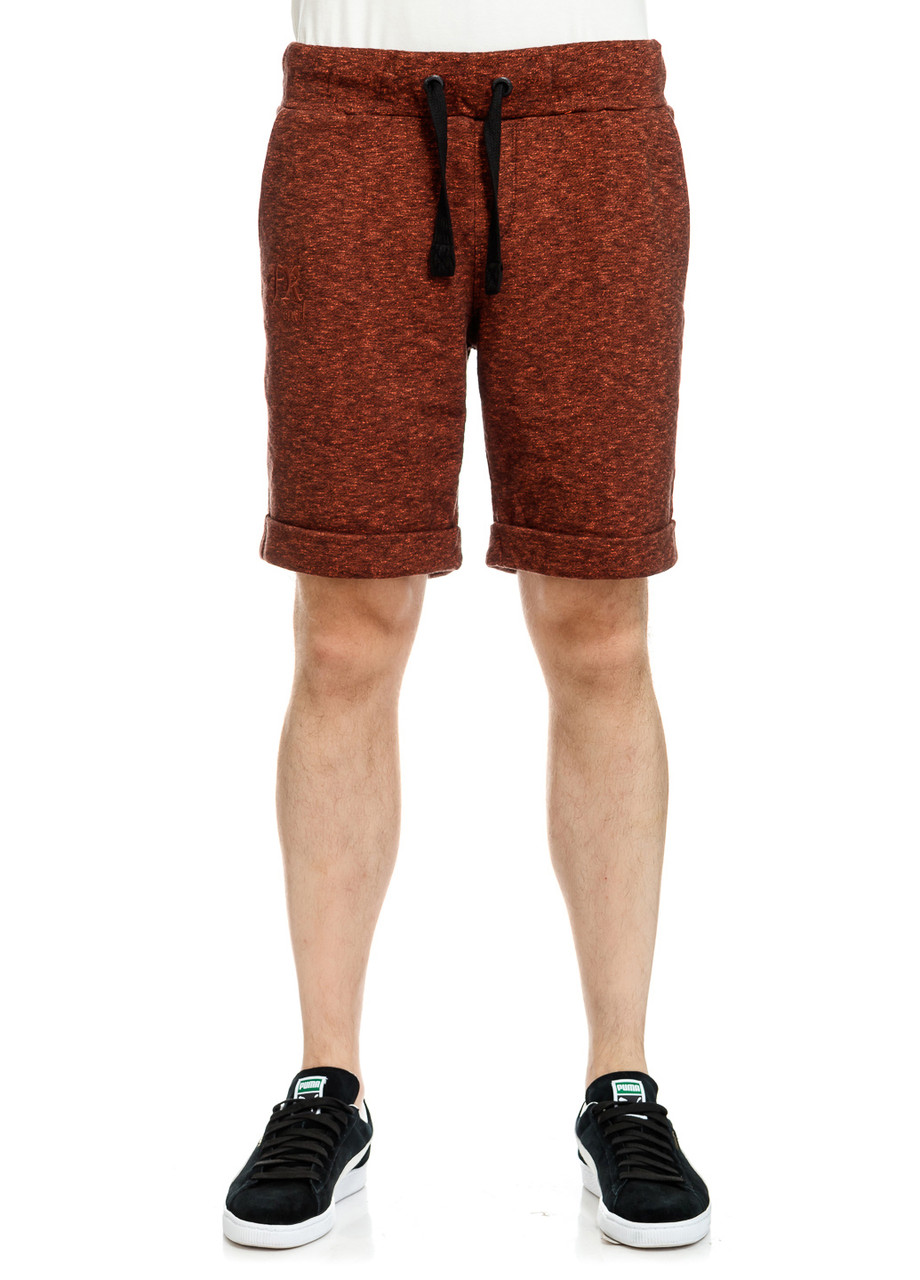 Шорты мужские Argor Shorts черно-оранжевого цвета
