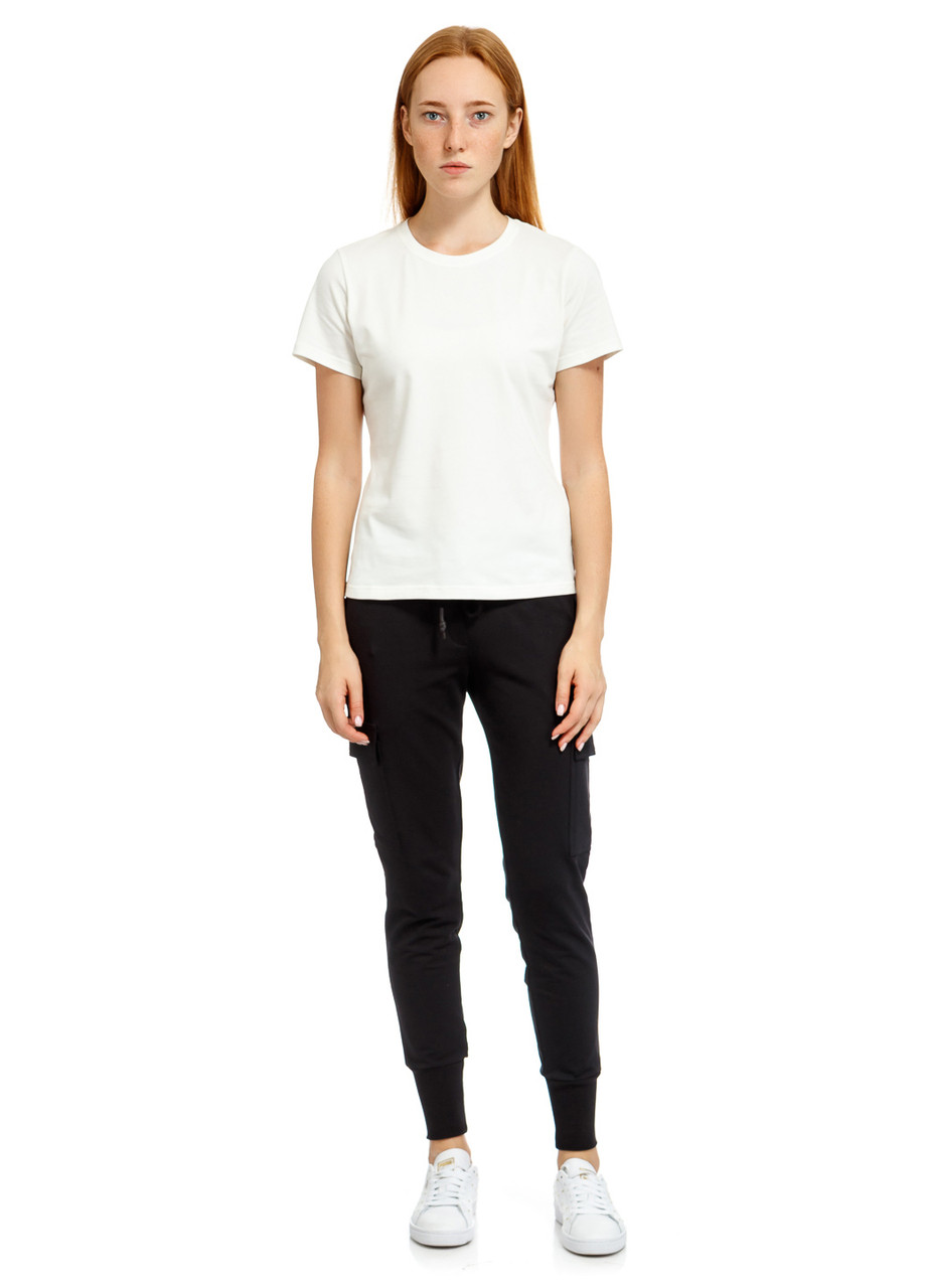 Футболка женская Differetiate w t-shirt молочного цвета