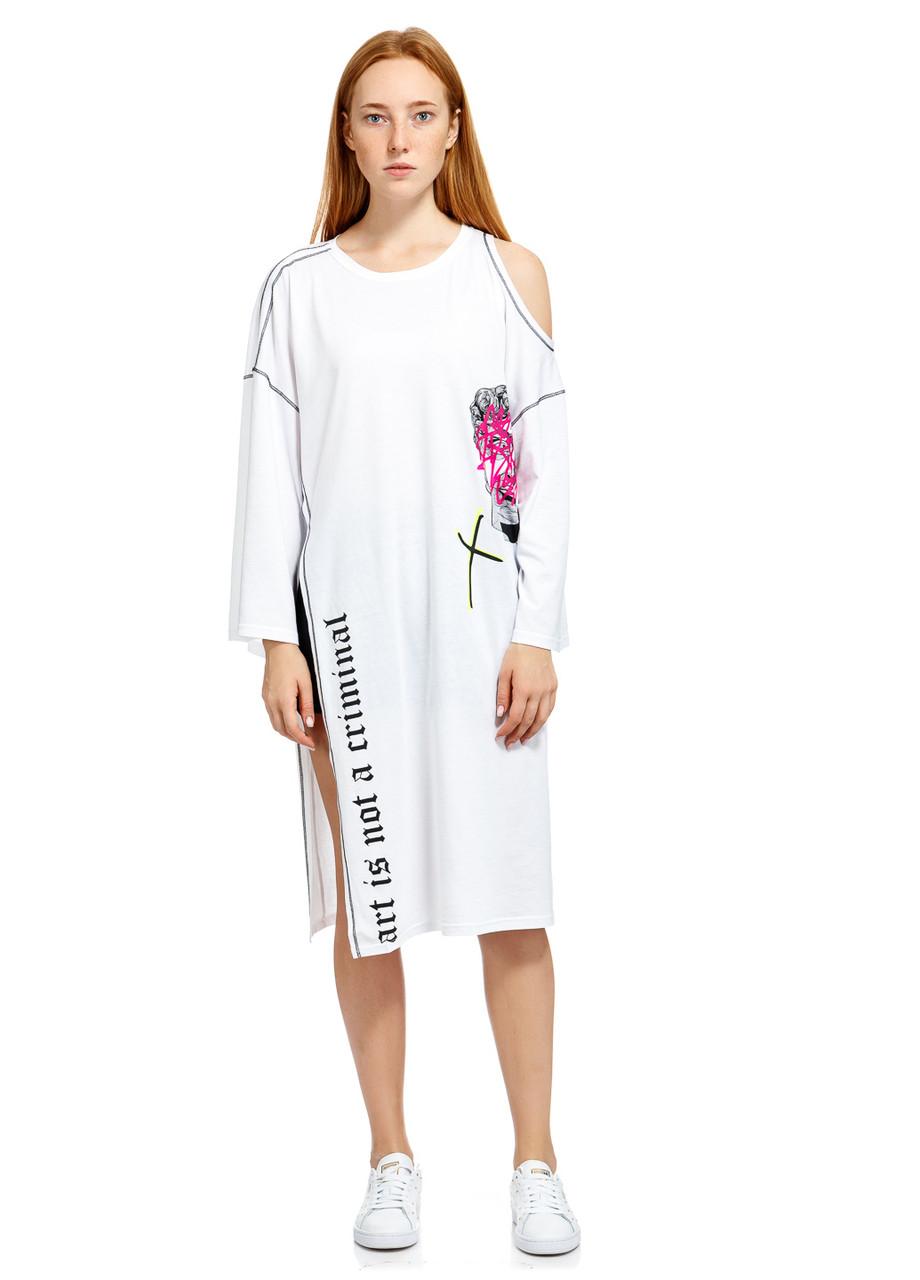 Туника женская Ivanka tunic белого цвета