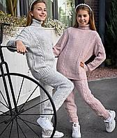 Костюм вязаный свитер + штаны Верона, фото 1