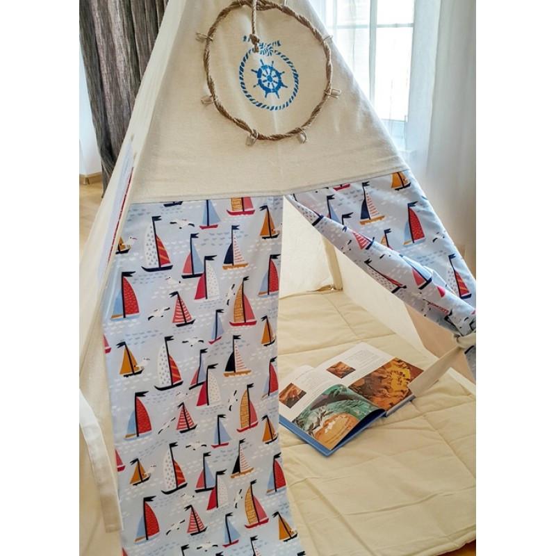 Детский вигвам «Кораблики», Sunny Bunny