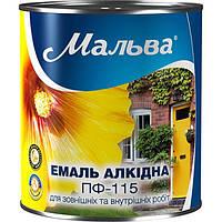 Эмаль Мальва ПФ-115 светло-голубая 0.9 кг N50111897
