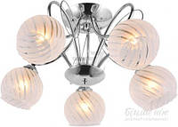 Люстра потолочная Accento lighting Libra 5x60 Вт E27 хром ALG-79880/5 T31333050