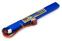 Аккумулятор для страйкбола Giant Power (Dinogy) Li-Pol 7.4V 2S 1500mAh 25C 15х19х167мм T-Plug