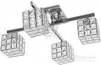 Люстра потолочная Crystal Lux 4x40 Вт G9 хромированный Grand/PL4 T30826348