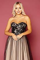 Красивое вечернее платье в пол  Размеры S, M, L, фото 3