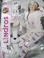 Подростковая пижама для девочки 4-11 лет, Турция