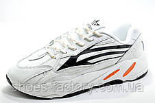 Мужские белые кроссовки в стиле Adidas Yeezy Boost 700 V2, White, фото 2